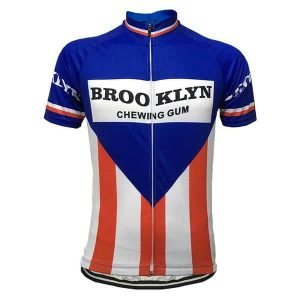 Maillot vintage Brooklyn-Chewing-gum 1975 - Classical Bicycles