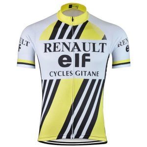 Maillot vintage Renault-ELF-Gitane 1981 - Classical Bicycles