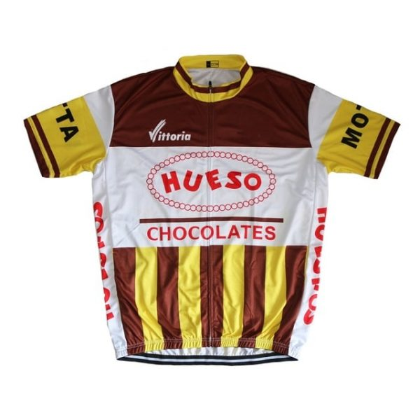 Maillot Vintage Hueso Chocolates 1983 - Classical Bicycles
