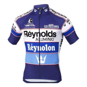 Maillot retro Reynolds 1988 - Classical Bicycles
