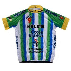 Maillot retro Kelme 2013 - Classical Bicycles