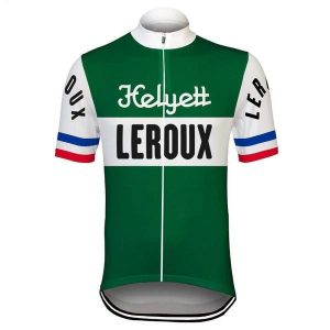 Maillot Retro Helyett Leroux 1960 - Classical Bicycles