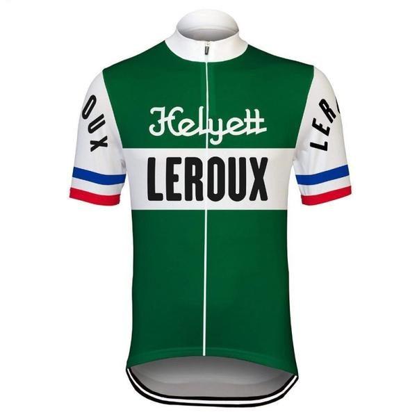 Maillot Retro Helyett Leroux 1960 - Classical Bicycles