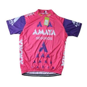 Maillot vintage Amaya Seguros 1991 - Classical Bicycles