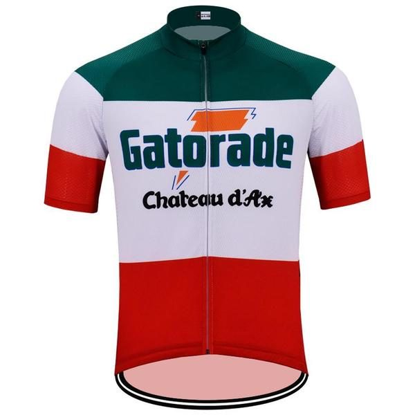 Maillot retro ITA Gatorade-Chateau d'Ax 1992 - Classical Bicycles