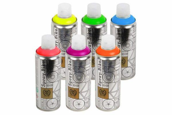 Spray Bike Fluorescent Collection - peinture pour vélo - Classical Bicycles