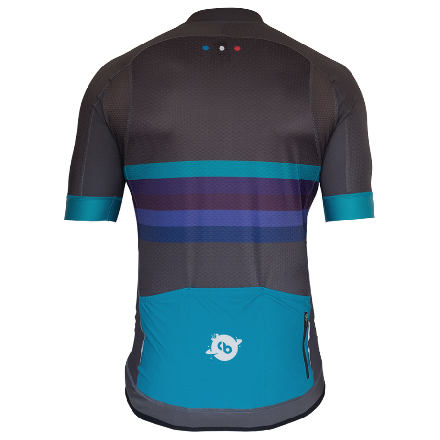 Maillot cyclisme Champion de l univers derriere - Collection Big Bang - Classical Bicycles