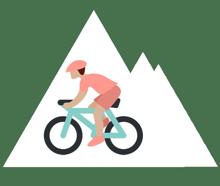 Cycliste en montagne - La sécurité - Classical Bicycles