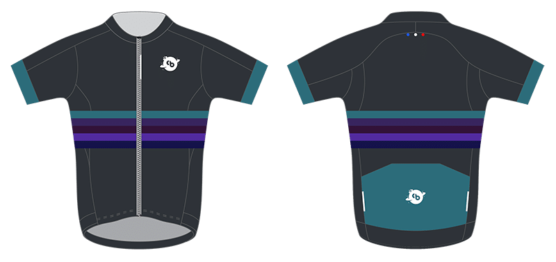 Design maillot champion de l'univers - Big Bang - Vêtements cyclistes intergalactiques