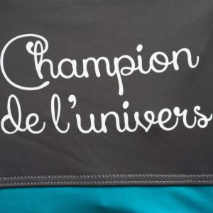 Cuissard cycliste Champion de l univers détails3- Collection Big Bang - Classical Bicycles
