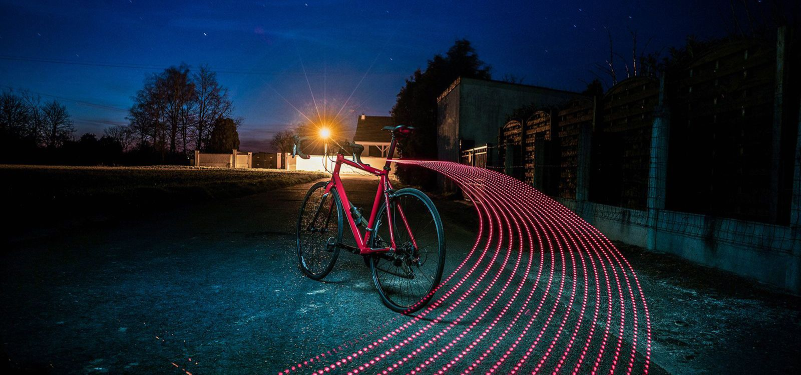 Light painting cosmique collection big bang - Classical Bicycles