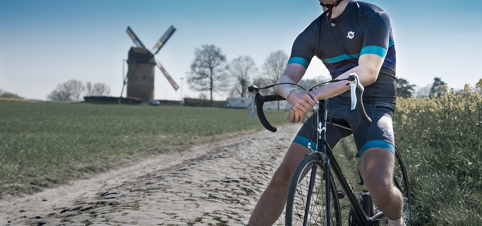 Maillot vélo cosmique collection big bang - Classical Bicycles