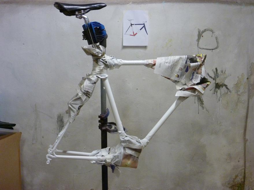 Repeindre son vélo comme un pro 5 étapes-Préparation