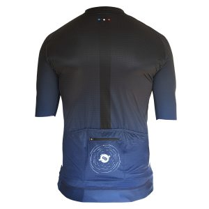Maillot cyclisme Etoile filante derriere - Collection Big Bang - Classical Bicycles
